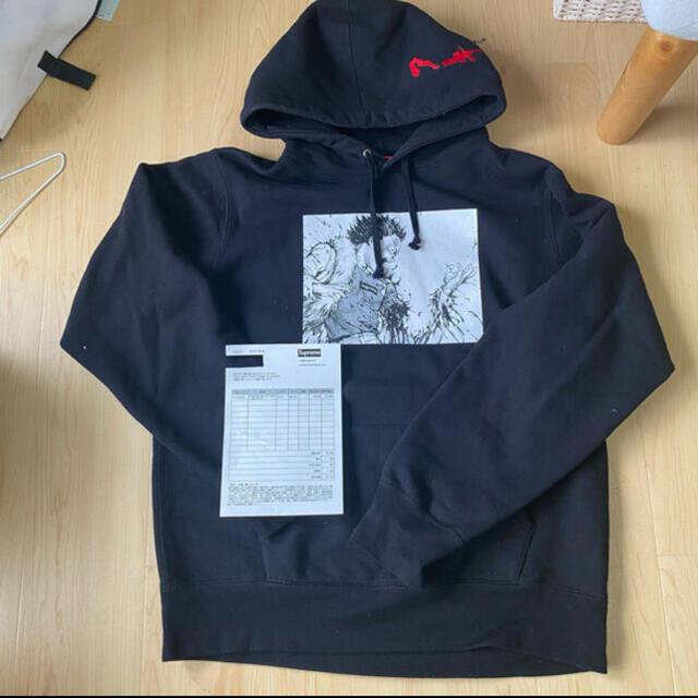 Supreme(シュプリーム)のシュプリームAkira arm hooded sweatshirt  Mサイズ メンズのトップス(パーカー)の商品写真