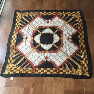 トラサルディ(Trussardi)のトラサルディ スカーフ シルク100% シフォンシルク(バンダナ/スカーフ)
