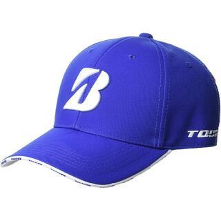 ブリヂストン(BRIDGESTONE)のブリヂストン ゴルフ TOUR BプロモデルキャップCPG911 ブルー(ウエア)