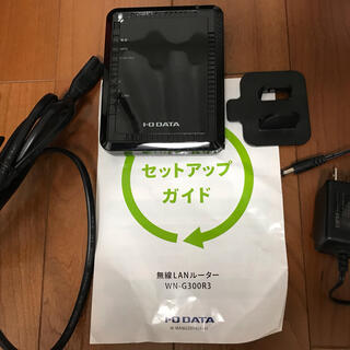 アイオーデータ(IODATA)のアイ・オーデータ/無線LANルーター(PC周辺機器)
