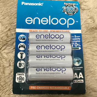 パナソニック(Panasonic)の残1)パナソニック エネループ 単3形充電池(その他)