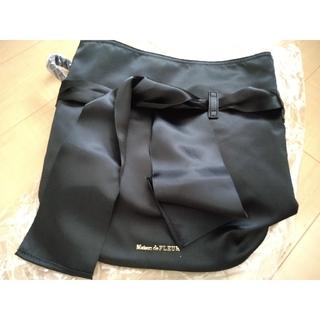 メゾンドフルール(Maison de FLEUR)の新品 メゾンドフルール リボンリュック 黒(リュック/バックパック)