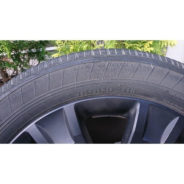三菱(ミツビシ)の【日向徹さん専用】デリカD5 18インチ タイヤ ホイール 4本セット 自動車/バイクの自動車(タイヤ・ホイールセット)の商品写真