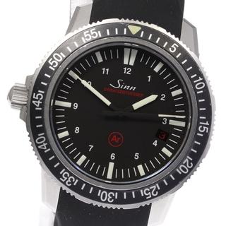 シン(SINN)のジン EZM-3 デイト 603 自動巻き メンズ 【中古】(腕時計(アナログ))