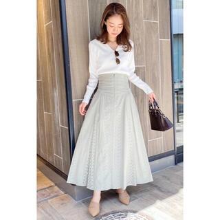 COCO DEAL - コットン刺繍コルセットハイウエストスカート