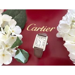 Cartier - Cartier カルティエ  ☆ タンクソロ  SM 美品☆替ベルト付☆☆