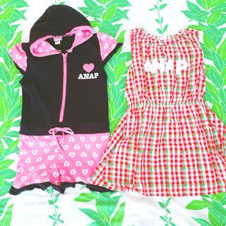 アナップキッズ(ANAP Kids)のアナップキッズ 120㎝ コンビネゾン・ワンピース(その他)