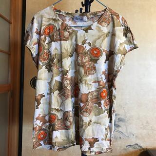アレッシィ(ALESSI)の ALESSIA   イタリア製 婦人Tシャツ サイズM〜L(Tシャツ(半袖/袖なし))