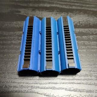 電動ガン用 フルメタルティース強化ピストン 14T 3本セット(カスタムパーツ)
