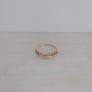 ete - ete リング K10 ゴールド ダイヤモンド 指輪