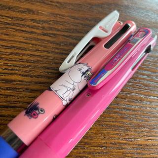 サラサ(さらさ)のムーミンジェットストリーム3色•SARASAジェルシャープ+2色ジェル(ペン/マーカー)