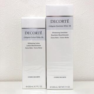【新品】 コスメデコルテ セルジェニー ホワイトER 乳液&化粧水セット