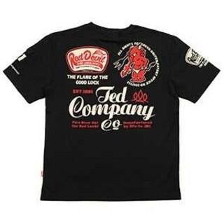 テッドマン(TEDMAN)のテッドマン/Tシャツ/ブラック/TDSS-535/エフ商会/カミナリモーター(Tシャツ/カットソー(半袖/袖なし))