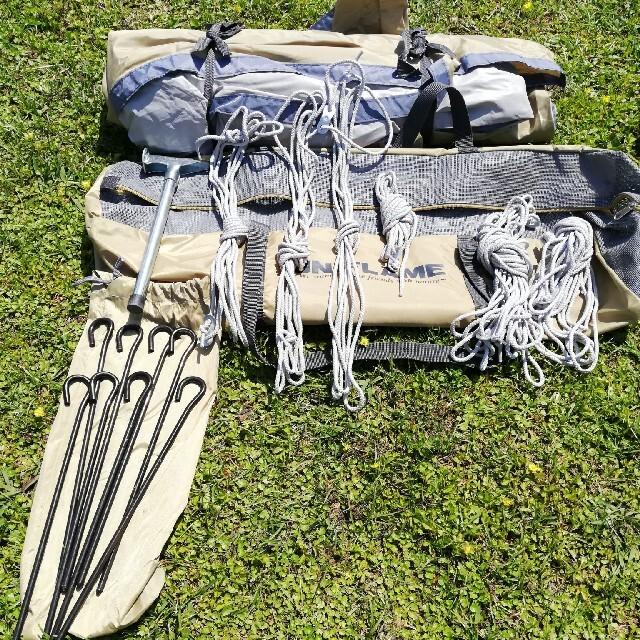 UNIFLAME(ユニフレーム)のぱいりーさん専用 使用回数2回 ユニフレーム レボタープL(REVOタープL) スポーツ/アウトドアのアウトドア(テント/タープ)の商品写真