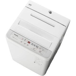 パナソニック(Panasonic)のパナソニック NA-F60B13-S 全自動洗濯機、6 kg シルバー(洗濯機)