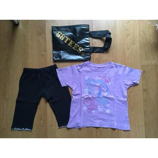エイティーエイティーズ(88TEES)の110㎝ Tシャツ&スパッツ(Tシャツ/カットソー)