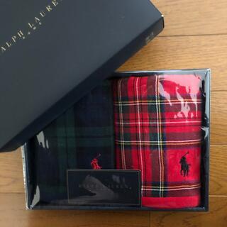 ラルフローレン(Ralph Lauren)の新品 ラルフローレン ウォッシュタオル セット(タオル/バス用品)