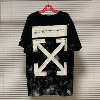 オフホワイト(OFF-WHITE)のoff-white Galaxy tシャツ ギャラクシー(Tシャツ/カットソー(半袖/袖なし))
