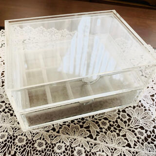 ムジルシリョウヒン(MUJI (無印良品))の無印良品アクセサリーボックス(ケース/ボックス)
