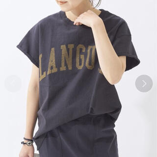 プラージュ(Plage)のPlage cut off logo Tシャツ(Tシャツ(半袖/袖なし))