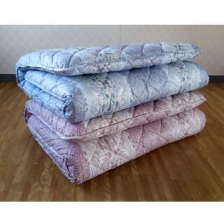 お買得 多層 羊毛混敷 2枚セット 清潔 安心 日本製 敷き布団 シングルロング(布団)