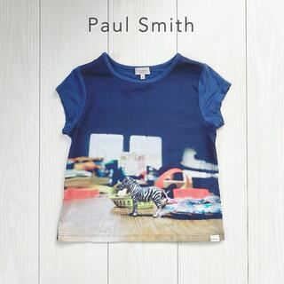 Paul Smith - Paul Smith JUNIOR◆ゼブラ 半袖Tシャツ TOY 5A 速乾素材