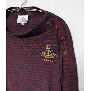 ヴィヴィアンウエストウッド(Vivienne Westwood)のvivienne westwood ヴィヴィアン・ウエストウッド ロゴ セーター(ニット/セーター)