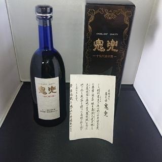 十四代 鬼兜■最高級長期熟成蘭引酒■本格米焼酎■720mlブルーボトル箱入冊子付(焼酎)