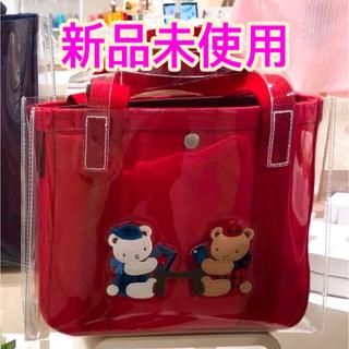 familiar - 【完売☆レア】ファミリア ajew バッグ 赤 レッド コラボ