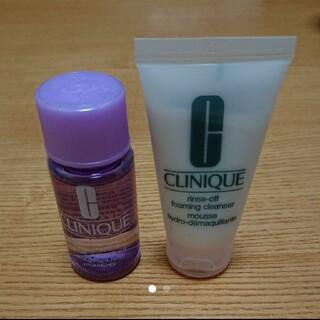 クリニーク(CLINIQUE)のCLINIQUEクリニークリンスオフクレンジングフォームテイクザデイオフリムーバ(洗顔料)