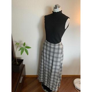 イエナスローブ(IENA SLOBE)のIENA SLOBEチェックロングスカート(ロングスカート)