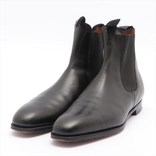 エドワードグリーン(EDWARD GREEN)のエドワードグリーン  レザー 10 ブラック メンズ ブーツ(ブーツ)