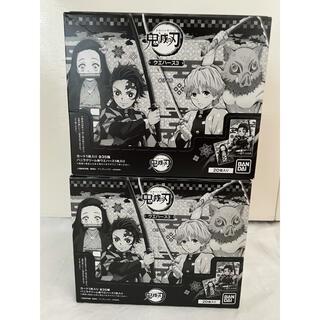 バンダイ(BANDAI)の鬼滅の刃 ウエハース3 20枚入り2箱(菓子/デザート)