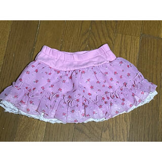 スキップランド(Skip Land)の【比較的綺麗です】スキップランド 花柄スカート90(スカート)