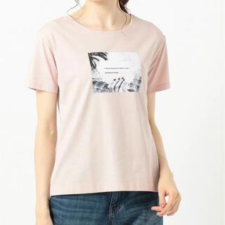 エニィスィス(anySiS)のanysis【UVケア&接触冷感】フォトプリントTシャツ(Tシャツ(半袖/袖なし))