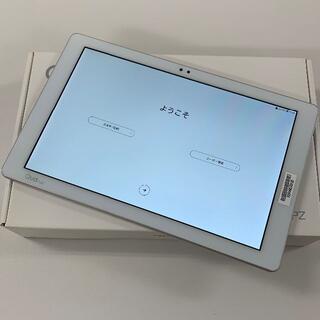 エルジーエレクトロニクス(LG Electronics)のQua tab PZ White LGT32 au 解除済(タブレット)