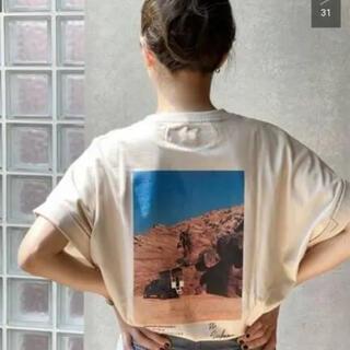 プラージュ(Plage)の値下げ⭐︎JANE SMITH フォトTシャツ(Tシャツ(半袖/袖なし))