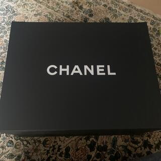 シャネル(CHANEL)のCHANEL シャネル 空箱 特大 磁石付き(ラッピング/包装)