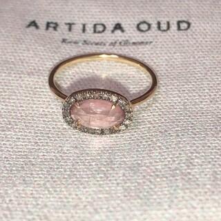アーカー(AHKAH)のもこもこ様専アルティーダ ウード ARTIDA OUD リング ピンクトルマリン(リング(指輪))