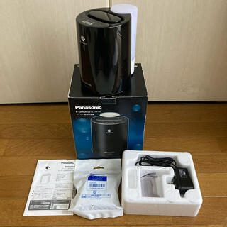 パナソニック(Panasonic)の新品カートリッジ付き!パナソニック ナノイー加湿機 F-GMGK02-K(加湿器/除湿機)