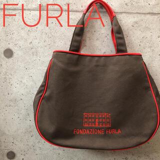 Furla - FONDAZIONE FURLA 布生地 ハンドバック フルラ