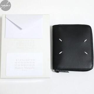 マルタンマルジェラ(Maison Martin Margiela)の19AW メゾンマルジェラ ジップ ラウンド レザー ウォレット 黒 新品 財布(折り財布)