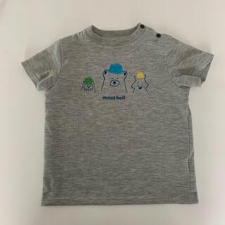 モンベル(mont bell)のmont-bell なかよし帽子Tシャツ 90㎝(Tシャツ/カットソー)