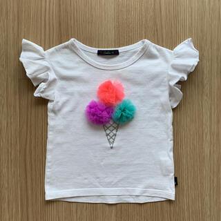 カルディア(CALDia)のカルディア 丸高衣料 ベビー キッズ アイスクリーム ポンポン 半袖 Tシャツ(Tシャツ/カットソー)