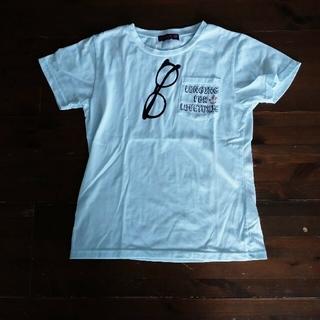 lovetoxic - LOVETOXICフェイクプリント半袖Tシャツ