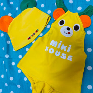 ミキハウス(mikihouse)のミキハウス 水着 80  男の子 女の子 帽子(水着)