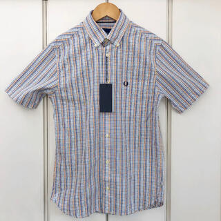 FRED PERRY - 新品 FRED PERRY チェック ボタンダウン シャツ(XS)