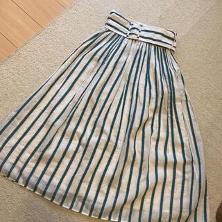 FRAY I.D - フレイアイディー ストライプギャザースカート♡