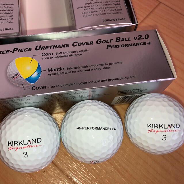 コストコ(コストコ)のカークランドシグネーチャーv2.0、1ダース 送料無料 チケットのスポーツ(ゴルフ)の商品写真