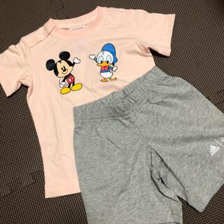 アディダス(adidas)の新品タグ付き adidas アディダス ディズニーコラボ ミッキー&ドナルド(Tシャツ)